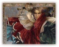 fantasi artist, artillustr, feast, thoma canti, fantast art