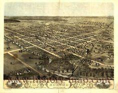 History Map - Kokomo, Indiana