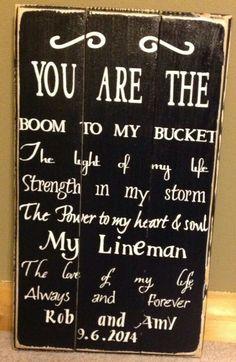 Love my lineman!