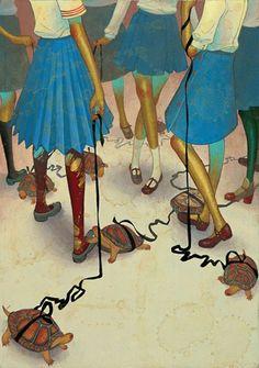 Pop Surrealism Art | Japanese Surreal Pop Art – Fuco Ueda