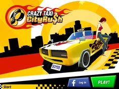 Crazy Taxi: City Rush by SEGA. racing apps.