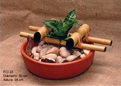 Fontes Água & Bambu: Modelos de fontes