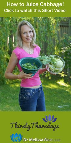 How to Juice Cabbage with Melissa West