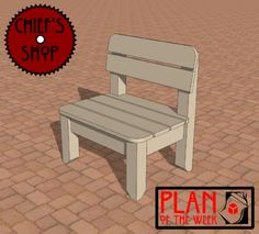 Plan of the Week: Patio Chair
