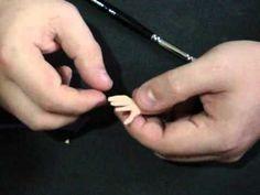 Vídeo Aula 001: Modelagem de mão Masculina em biscuit