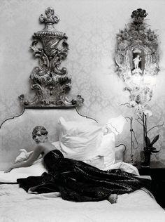 pretti thing, tim walker, stylabl photo, vintag erotica, kate moss