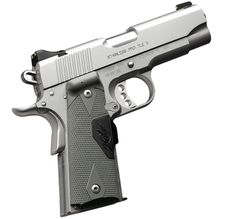 Kimber 1911 Stainless Pro TLE II (LG) - Light weight, a 4-inch barrel, night sights and Crimson Trace® Lasergrips® make this pistol ideal for duty, carry or personal protection.