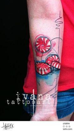 Ivana - Mints tattrx.com/artists/ivana-belakova tumblr:...