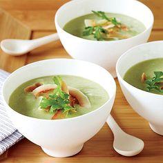 Spicy Avocado-Cucumber Soup