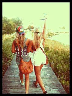 Best friends & beach days ...perfection @Kat Ellis albritton