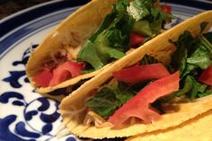 chicken tacos, taco recipes