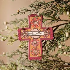 Believe - Christmas Ornament