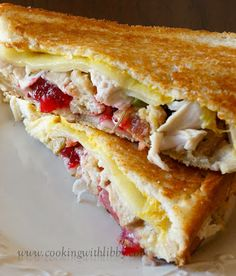 Cooking With Libby: Left Over Thanksgiving Sandwiches
