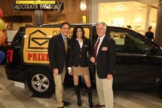 PCH Prize Patrol at the 20th anniversary event of Mall of America®