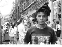 Graffiti Artist Jean-Michel Basquiat  lived and died for art...