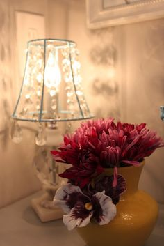 DIY:: Crystal lampshade