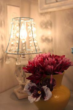 DIY:: Crystal lampshade