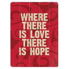 Where There is Love Wall Art at Joss & Main