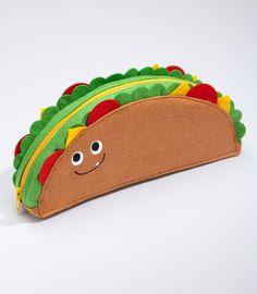 A taco purse!  How cute!