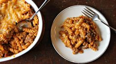 Blogger Jessica Walker from Lil' Miss Bossy shares a pasta bake that is hearty, cheesy and full of Mexican flavors.