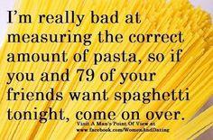 pasta funny, time, boxes, pasta humor, pasta quotes