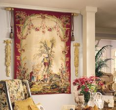 hang tapestri, dolli decor, wall tapestri, french aubusson