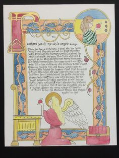 illuminated manuscri