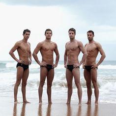 Australian Olympic Swim Team - Shirtless Wonders