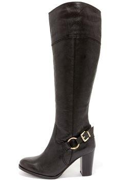 Diba True City Glaze Black Boots