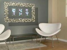 Manualidades y Artesanías | Mural con mosaico veneciano | Utilisima.com