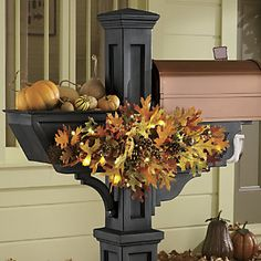 Modern Vintage Coastal...: Decorating your home for fall