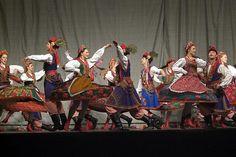 One of the most iconic Polish regional folk costumes - Krakow region.