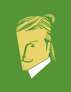 Noma Bar's Guess Who?: Minimalist Portraits of Cultural Icons | Brain Pickings