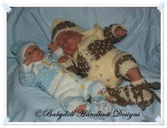 Brick Patterned Suit for Premature Babies-