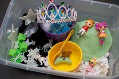 Nursery Rhyme sensory tub #ece