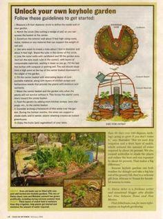 Garden Ally: A Hill Country Keyhole Garden