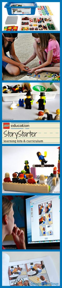 New LEGO kit gets kids imagining, working together, learning, and . . . WRITING!! :)