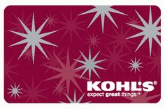 Enter to win a $200 Kohl's gift card sweepstakes on Mocha Man Style. Deadline is 10/10/14