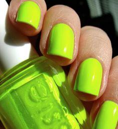 Essie - Funky Limelight nail polish