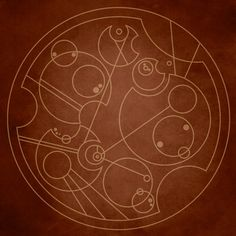 """You can't take the sky from me"" in circular gallifreyan. Sooo nerdy. So pretty!"