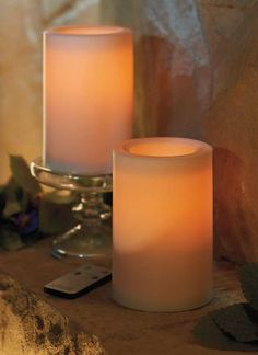 Create the ambience of candlelight without the mess or inconvenience.