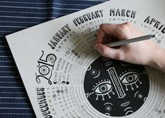 Caitlin Keegan - Illustrated Lunar Calendar