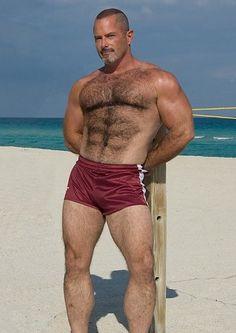 beefy. Find more masculine mature men on www.datedick.com