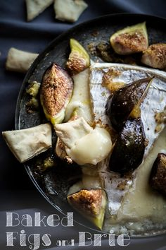 Baked Figs and Brie