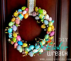 DIY Easter Wreath fr