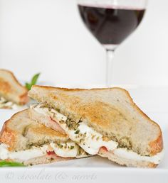 Italian Grilled Cheese eats