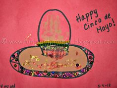 Sombrero kids craft