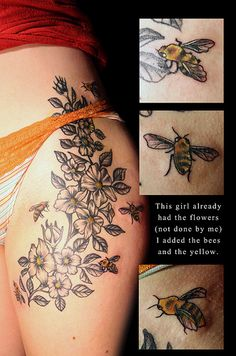 Thigh Tattoos for Women