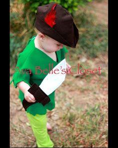 Boys Peter Pan Costume 6M-5T on Etsy, $46.50