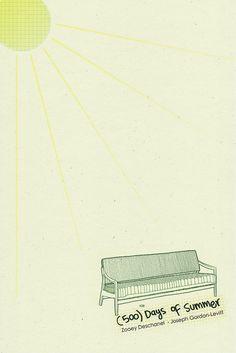 Minimalist Movie Posters: 500 Days of Summer